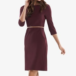 MM LaFleur Etsuko Dress In Claret